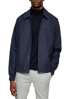 Topman Papertouch Classic Fit Bomber Jacket