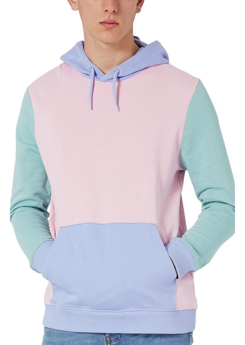 a3a35865 Topman Topman Pastel Colorblock Hoodie | Outerwear