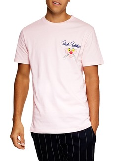 Topman Pink Panther Graphic T-Shirt