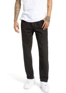 Topman Pinstripe Original Fit Jeans