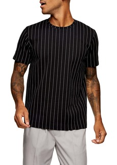 Topman Pinstripe T-Shirt