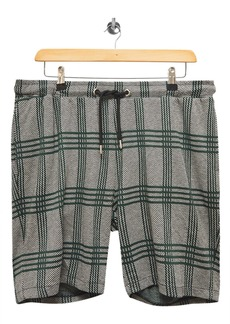 Topman Plaid Drawstring Shorts