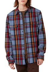 Topman Plaid Flannel Shirt