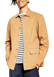 Topman Pocket Shirt Jacket