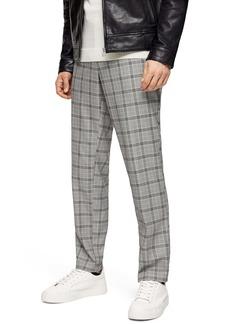 Topman Premium Check Skinny Trousers