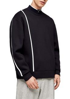 Topman Premium Line Crewneck Sweatshirt