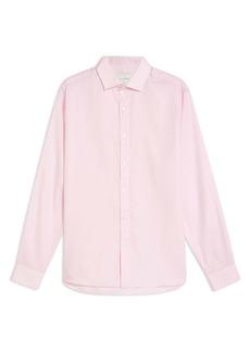Topman Premium Slim Fit Dobby Shirt