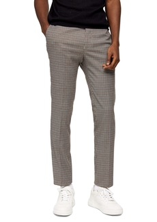 Topman Pupstooth Stretch Skinny Pants