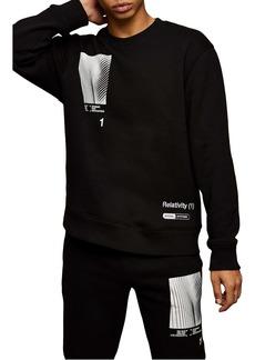 Topman Relativity Graphic Sweatshirt