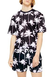 Topman Reverse Palm Print T-Shirt