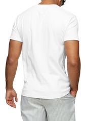 Topman Ribbed Crewneck T-Shirt