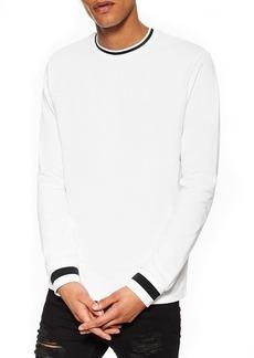Topman Ringer Long Sleeve T-Shirt