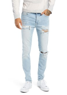 Topman Rip Paint Jeans