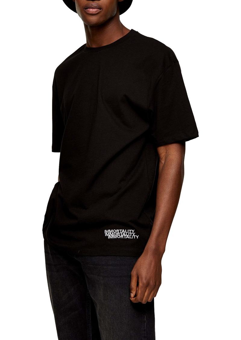 Topman Rose Immortality T-Shirt