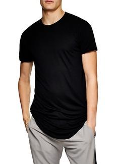 Topman Scotty Longline Slim Fit T-Shirt