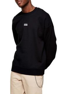Topman Seoul Oversize Crewneck Sweatshirt