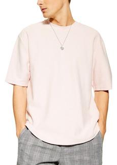 Topman Short Sleeve Sweatshirt