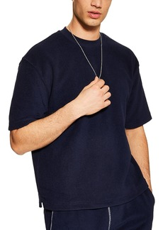 Topman Short Sleeve Terry Sweatshirt