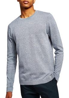 Topman Side Rib Cotton Sweater