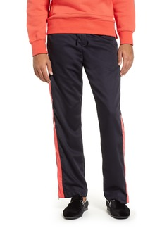Topman Side Stripe Straight Leg Trousers