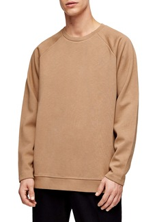 Topman Side Zip Crewneck Sweater