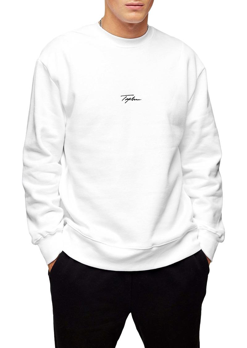 Topman Signature Crewneck Sweatshirt
