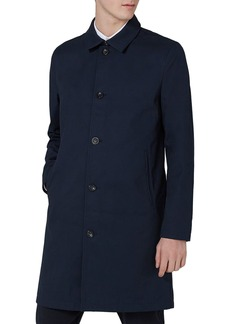 Topman Single Breasted Topcoat