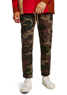 Topman Skinny Fit Camo Cargo Pants