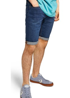 Topman Skinny Fit Denim Shorts