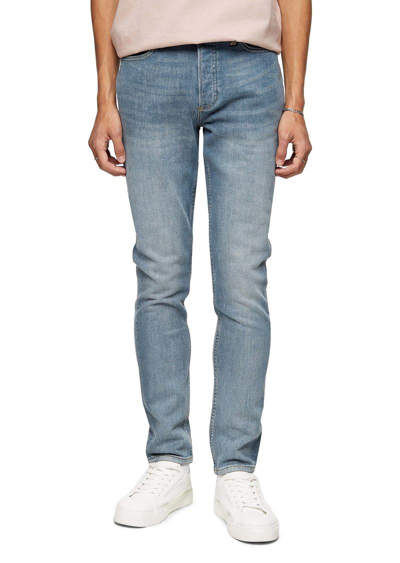 Topman Skinny Fit Jeans (Grey)
