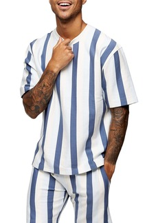 Topman Skinny Stripe Sweatshirt