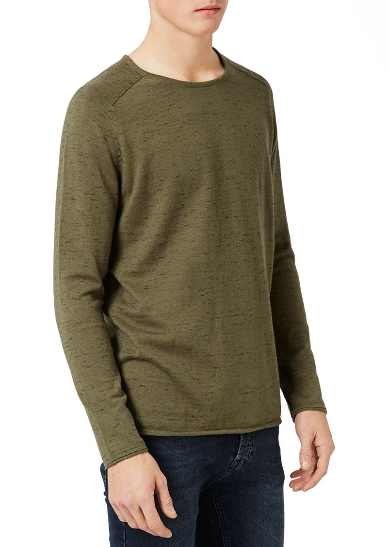 Topman Slim Fit Crewneck Sweater