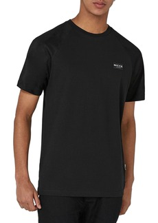 Topman Slim Fit NICCE Logo Patch T-Shirt