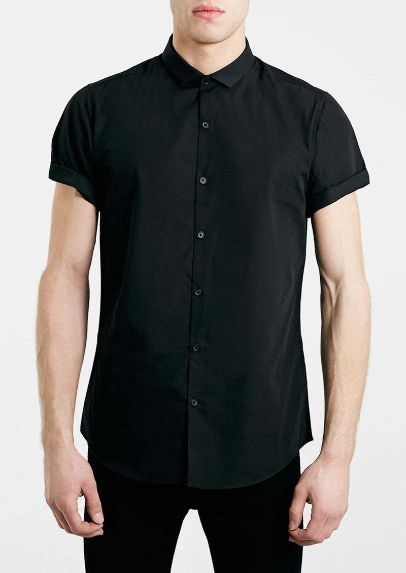 Topman Slim Fit Short Sleeve Shirt