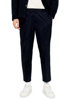 Topman Slim Fit Solid Drawstring Pants