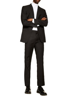 Topman Slim Fit Suit Trousers
