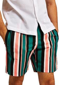 Topman Slim Stripe Shorts