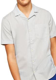 Topman Slubbed Woven Shirt