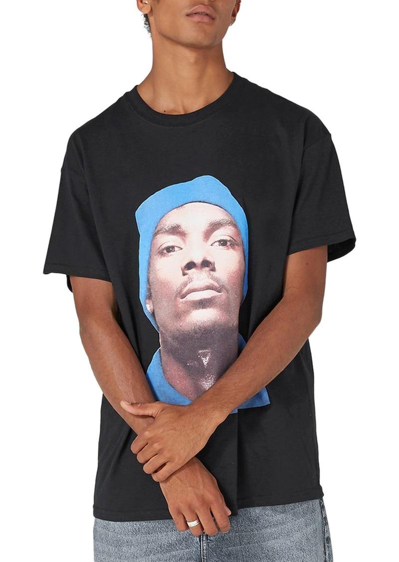 80cfcd69 Topman Topman Snoop Dogg T-Shirt | T Shirts