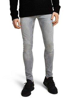 Topman Spray-On Skinny Fit Jeans