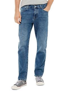 Topman Straight Leg Dad Jeans