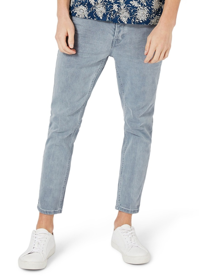 b8be192156 Topman Topman Stretch Slim Fit Crop Jeans | Jeans
