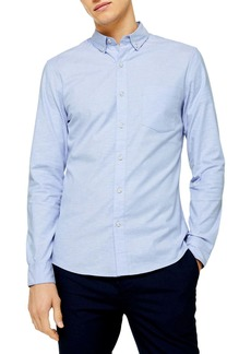 Topman Stretch Solid Shirt