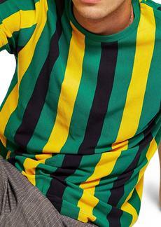 Topman Stripe Piqué T-Shirt