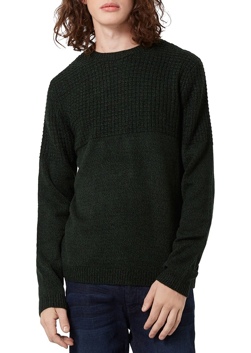Topman Textured Crewneck Sweater
