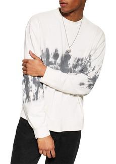 Topman Tie Dye Sweatshirt