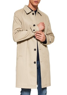 Topman Triple Stitch Mac Coat