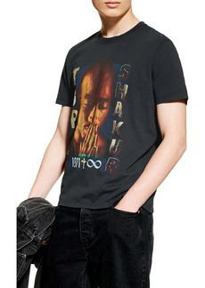 Topman Tupac Graphic T-Shirt