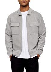 Topman Twill Shirt Jacket