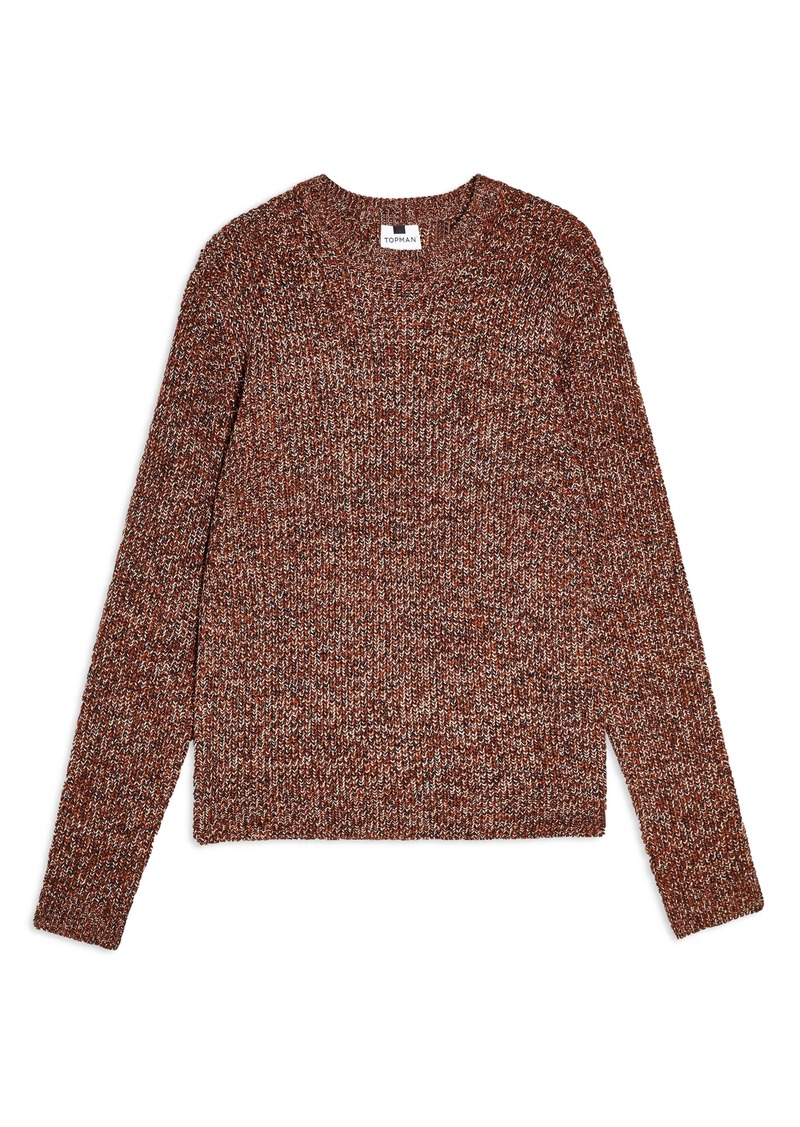 Topman Twist Crewneck Sweater
